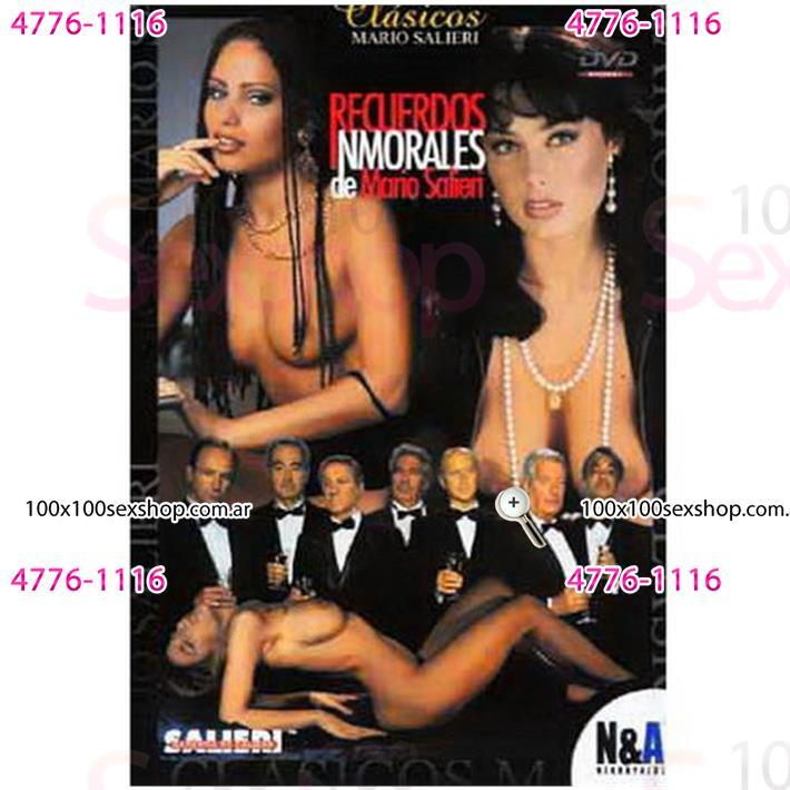 Cód: CA DVDIT-113 - DVD XXX Recuerdos Inmorales - $ 200