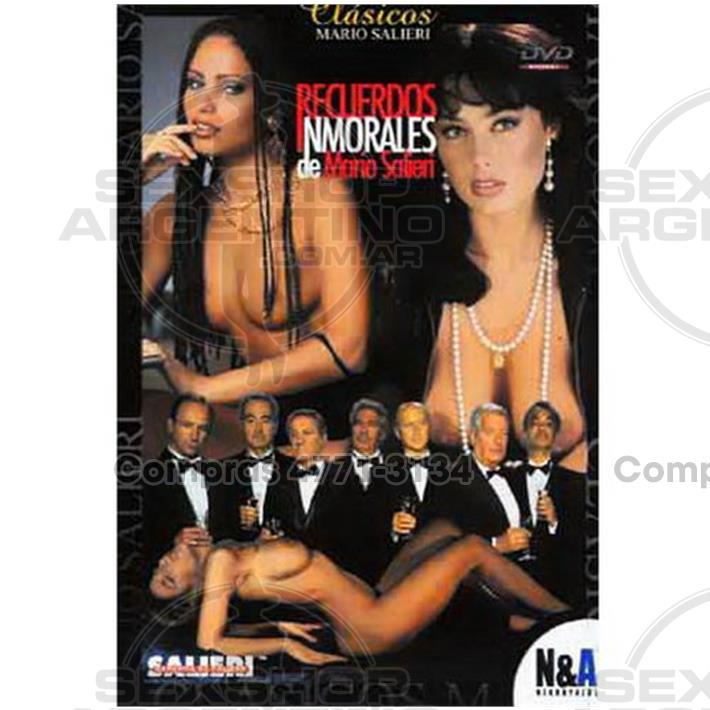 - DVD XXX Recuerdos Inmorales