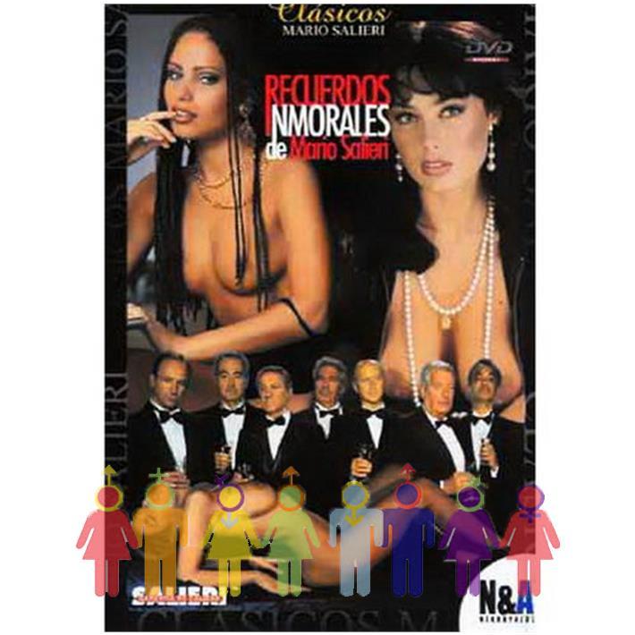DVD XXX Recuerdos Inmorales