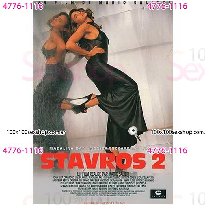 Cód: CA DVDIT-118 - DVD XXX Stavros 2 - $ 200