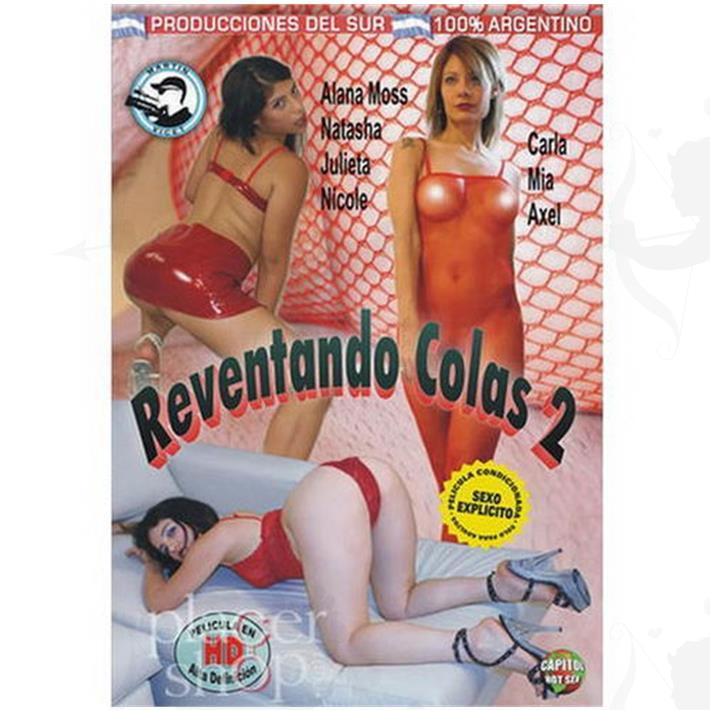 DVD XXX Reventando Colas 2