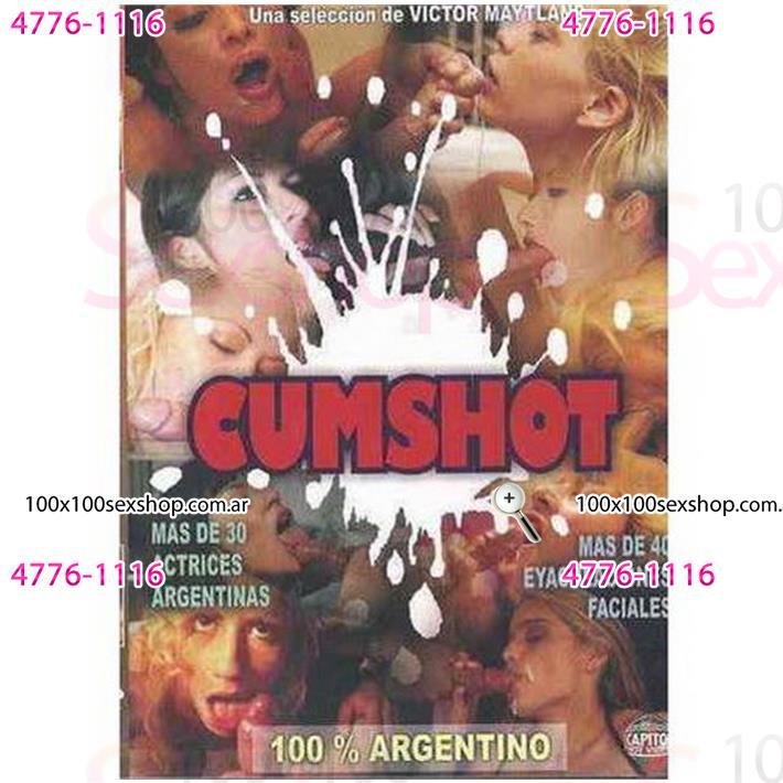 Cód: CA DVDNAC-107 - DVD XXX Cumshot Argentino - $ 200
