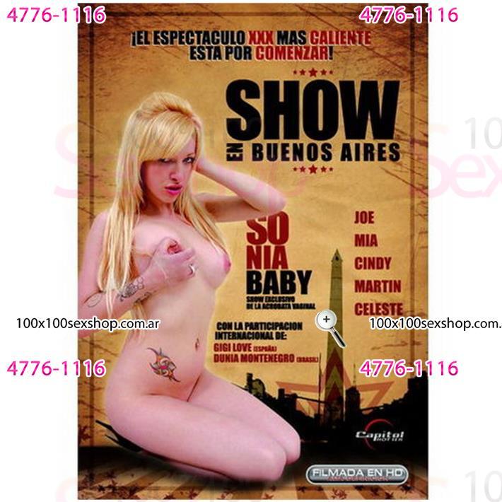 Cód: CA DVDNAC-108 - DVD XXX Show En Buenos Aires - $ 200
