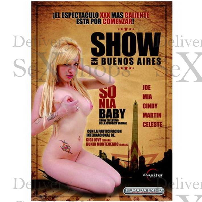 DVD XXX Show En Buenos Aires
