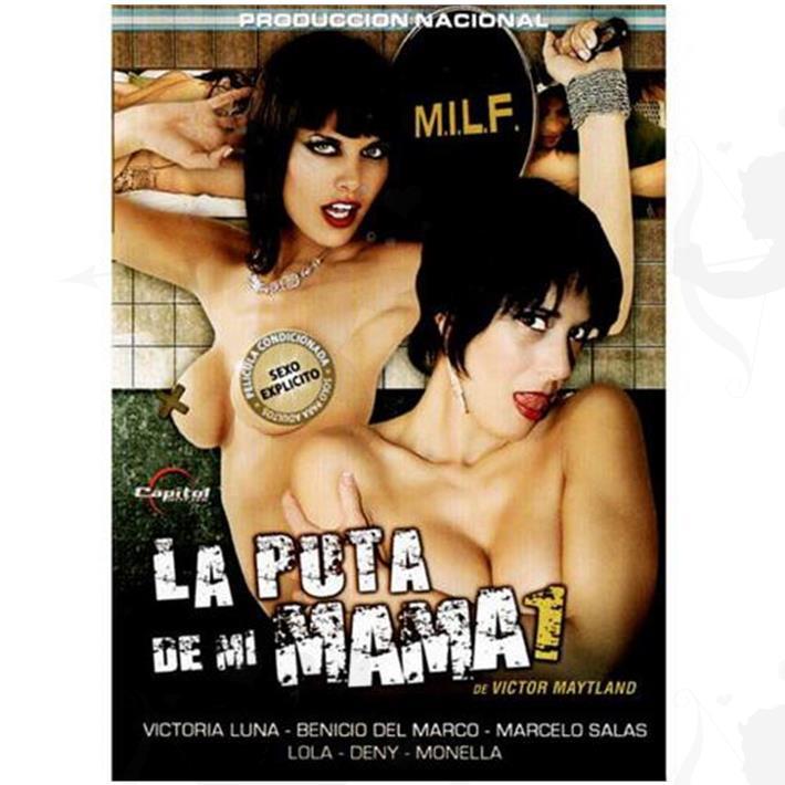 DVD XXX La Puta De Mi Mama