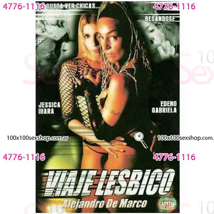 Cód: CA DVDNAC-125 - DVD XXX Viaje Lesbico - $ 200