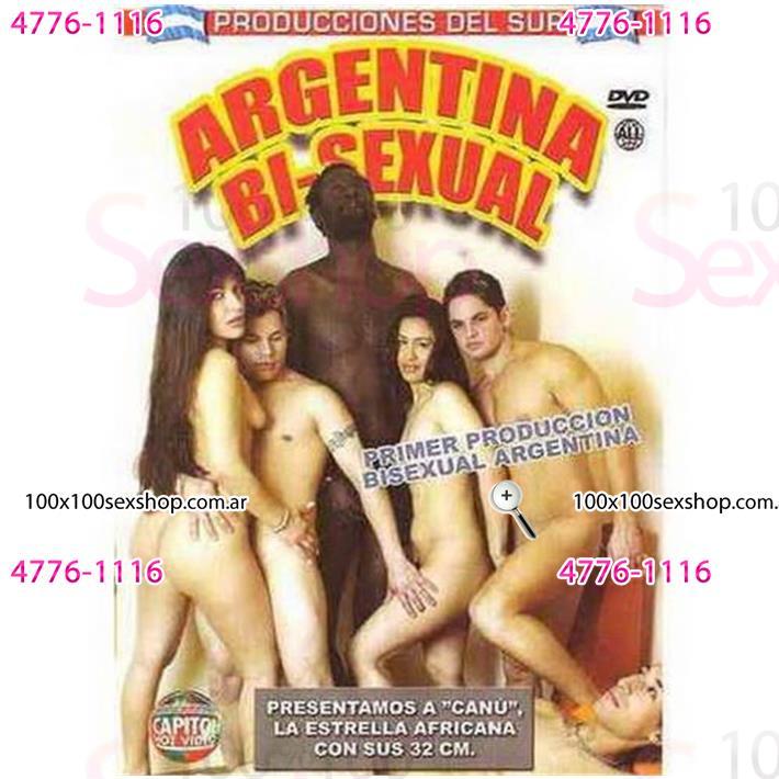 Cód: CA DVDNAC-127 - DVD XXX Argentina Bisexual - $ 200