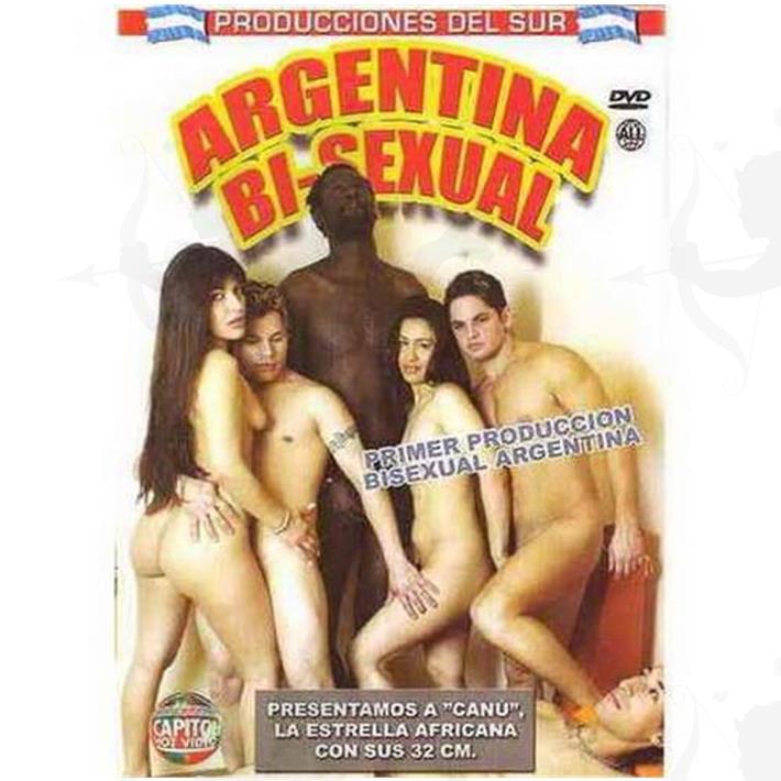 Cód: DVDNAC-127 - DVD XXX Argentina Bisexual - $ 200
