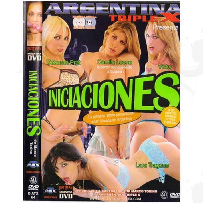 Cód: DVDNAC-207 - DVD XXX Iniciaciones - $ 200