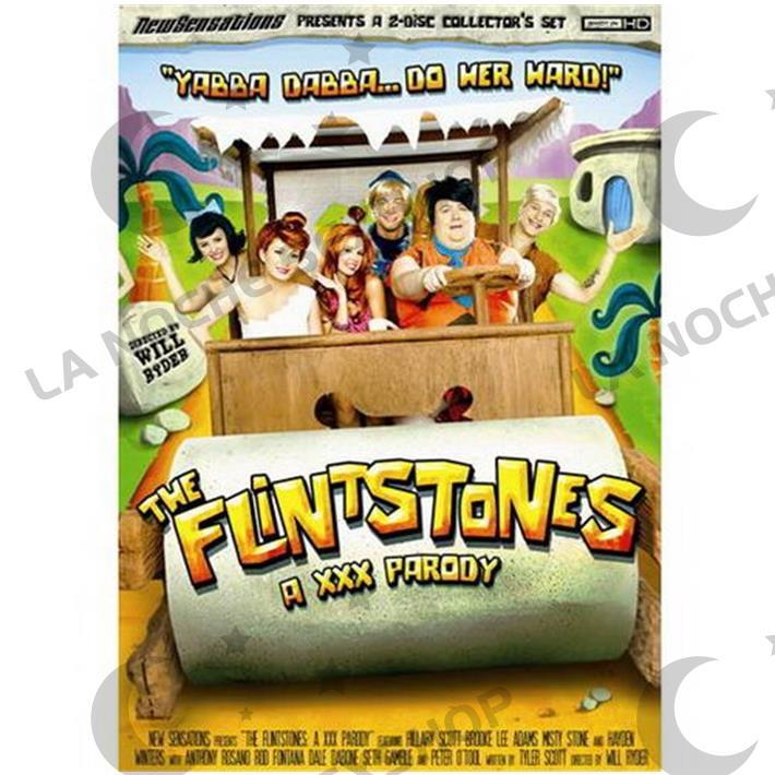 DVD XXX Los Picapiedras Parodia Xxx