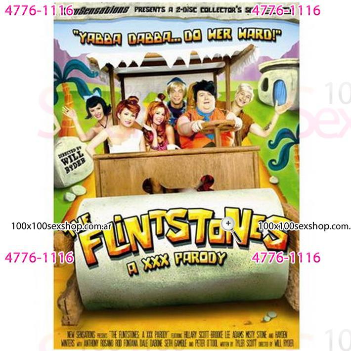 Cód: CA DVDPAROD-101 - DVD XXX Los Picapiedras Parodia Xxx - $ 200
