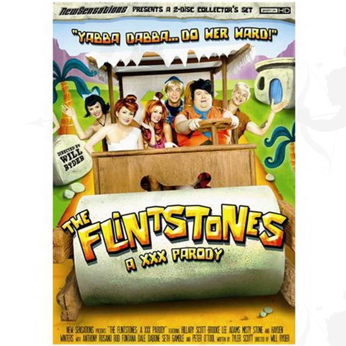 Cód: DVDPAROD-101 - DVD XXX Los Picapiedras Parodia Xxx - $ 200