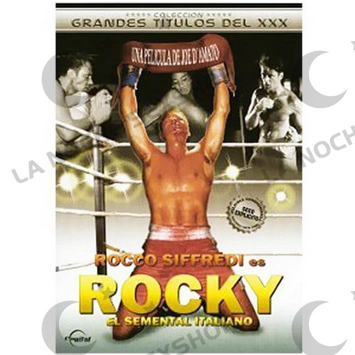 DVD XXX Rocky Parodia Xxx
