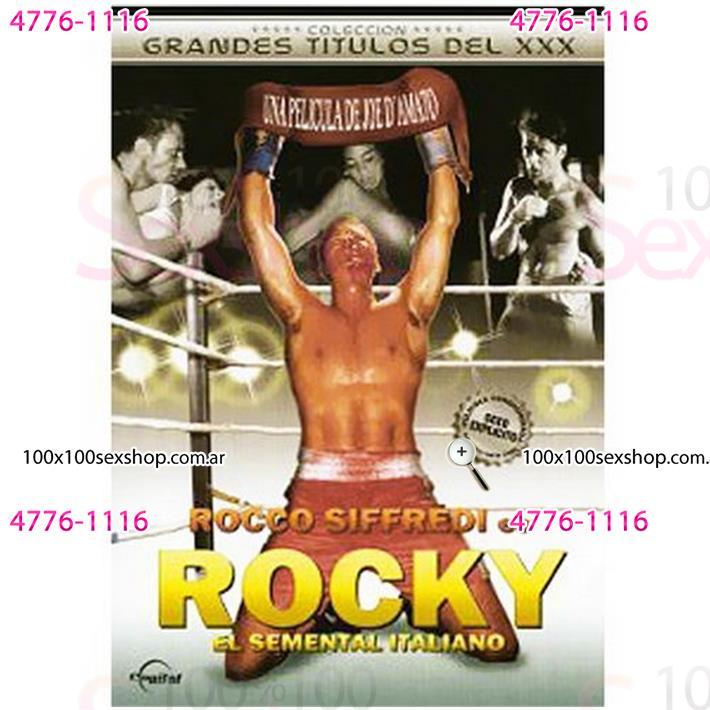 Cód: CA DVDPAROD-102 - DVD XXX Rocky Parodia Xxx - $ 200