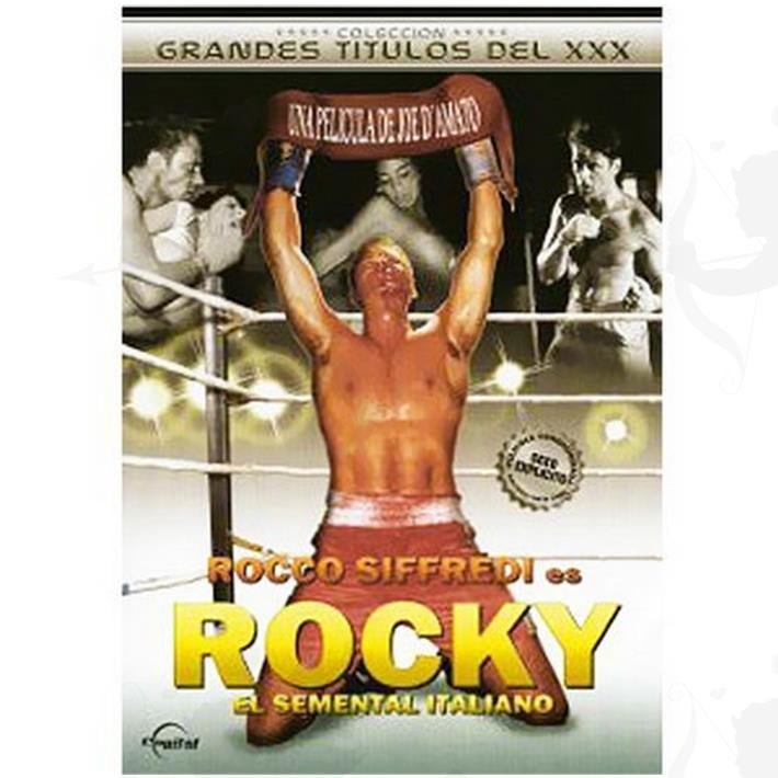 Cód: DVDPAROD-102 - DVD XXX Rocky Parodia Xxx - $ 200