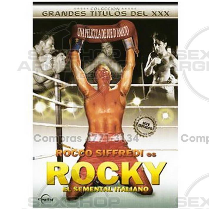- DVD XXX Rocky Parodia Xxx