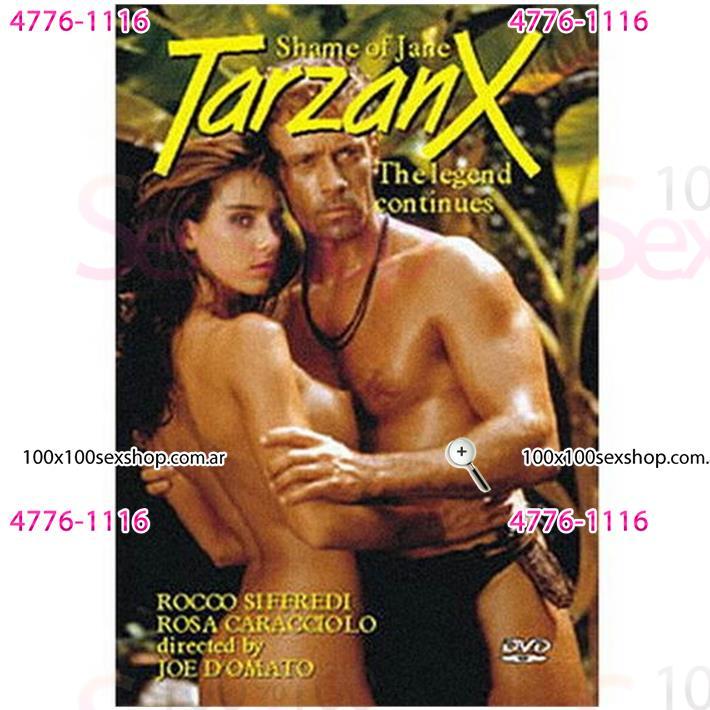 Cód: CA DVDPAROD-104 - DVD XXX Tarzan Parodia Xxx - $ 200