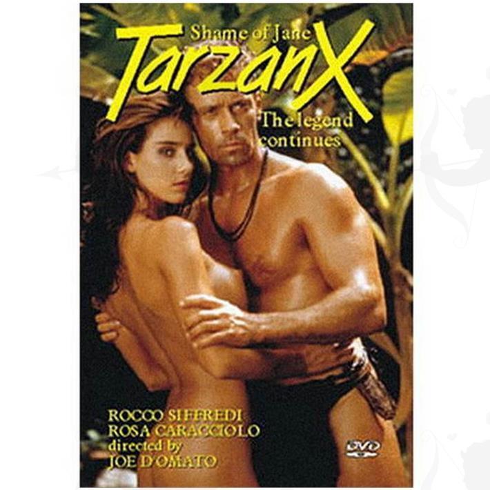 Cód: DVDPAROD-104 - DVD XXX Tarzan Parodia Xxx - $ 200