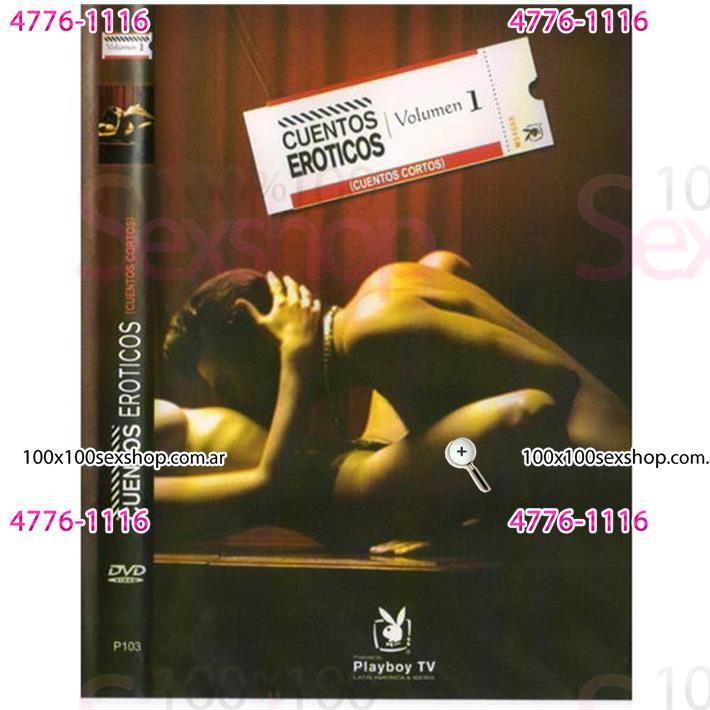 Cód: CA DVDPLAY102 - DVD XXX Cuentos Eroticos - $ 200