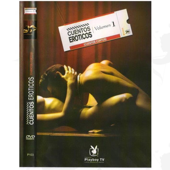 Cód: DVDPLAY102 - DVD XXX Cuentos Eroticos - $ 200
