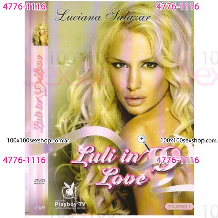 Cód: CA DVDPLAY103 - DVD XXX Luciana Salazar Luli In Love - $ 200