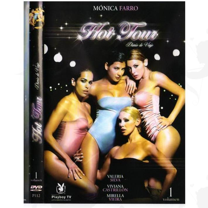 Cód: DVDPLAY104 - DVD XXX Monica Farro Hot Tour - $ 200