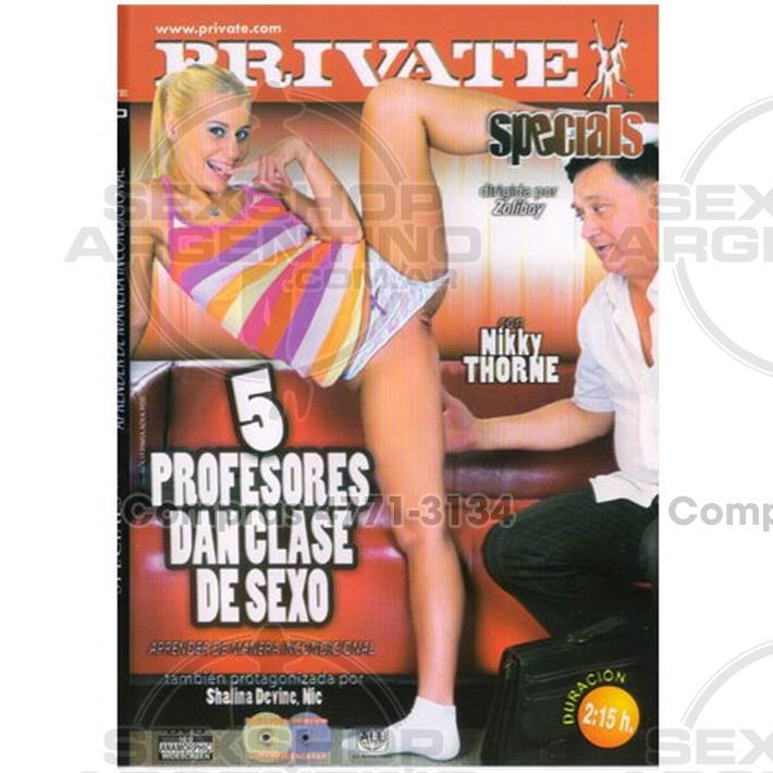 - DVD XXX 5 Profesores Dan Clases De Sexo