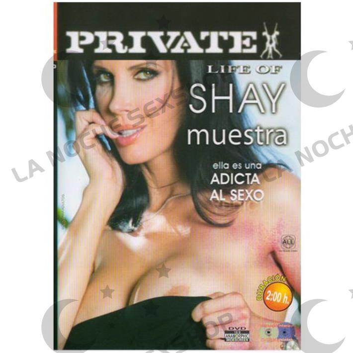 DVD XXX Shay Adicta Al Sexo