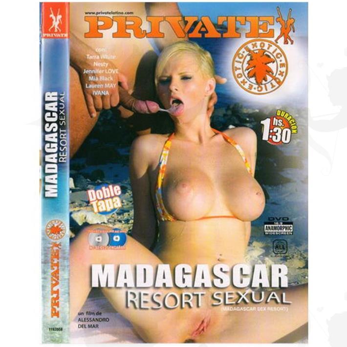 Cód: DVDPRIV-113 - DVD XXX Madagascar Resort Sexual - $ 200
