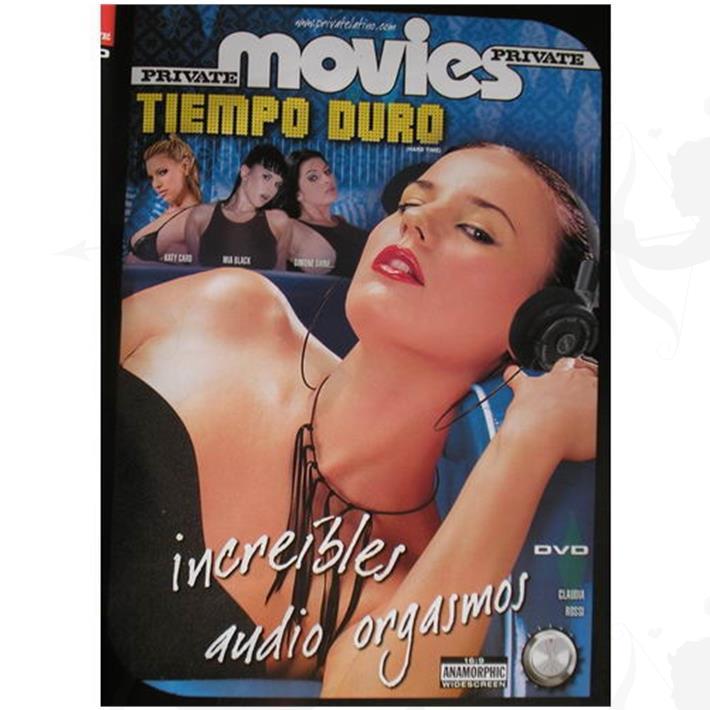 Cód: DVDPRIV-118 - DVD XXX Increibles Audio Orgasmos - $ 200