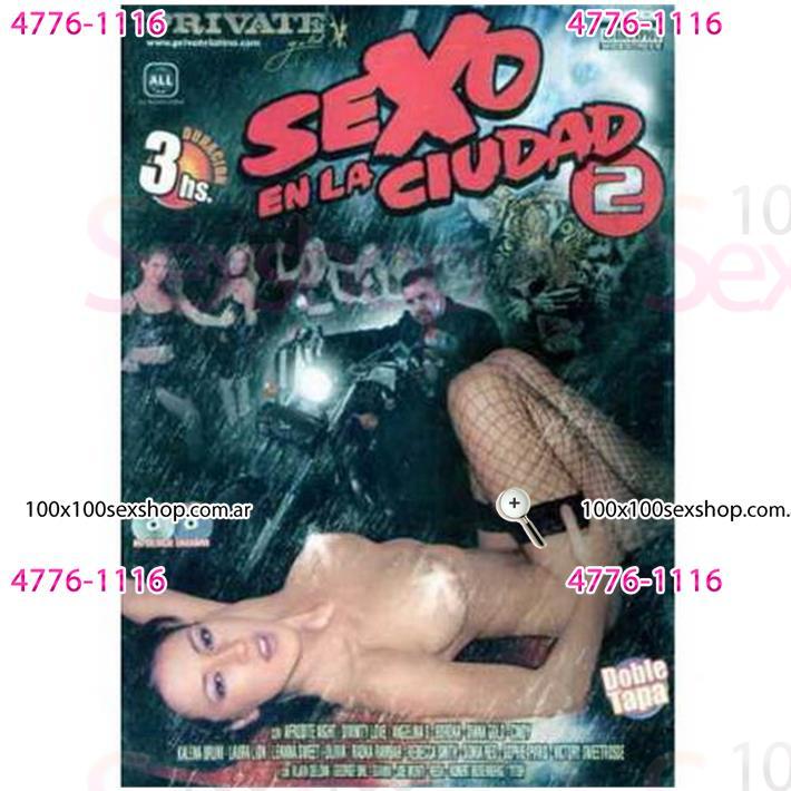 Cód: CA DVDPRIV-121 - DVD XXX Sexo En La Ciudad 2 - $ 200