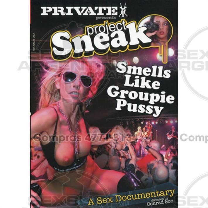 - DVD XXX Los olores igual que Groupie Pussy