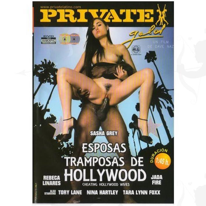 DVD XXX Esposas Tramposas De Hollywood