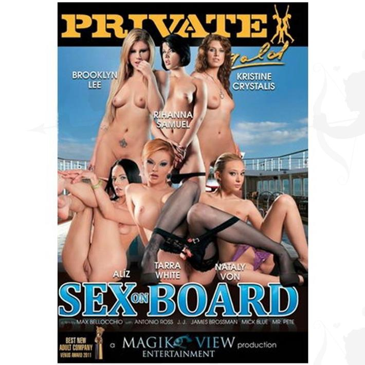 Cód: DVDPRIV-144 - DVD XXX Sex On Board - $ 200