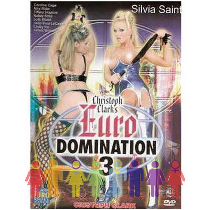 DVD XXX Euro Domination 3