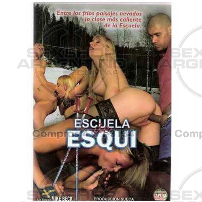 Películas eróticas, Dvd suecas - DVD XXX Escuela De Esqui