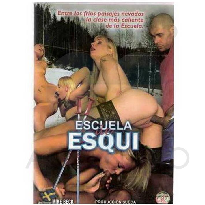 DVD XXX Escuela De Esqui