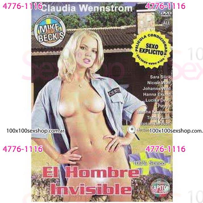 Cód: CA DVDSUE-104 - DVD XXX El Hombre Invisible - $ 200
