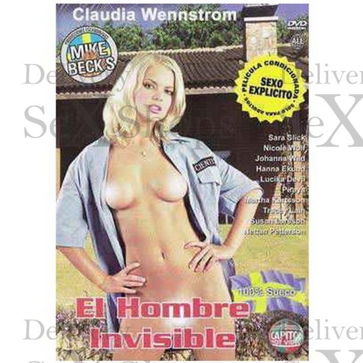 DVD XXX El Hombre Invisible