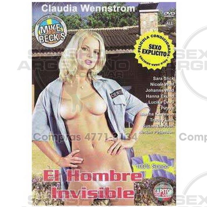 Películas eróticas, Dvd suecas - DVD XXX El Hombre Invisible