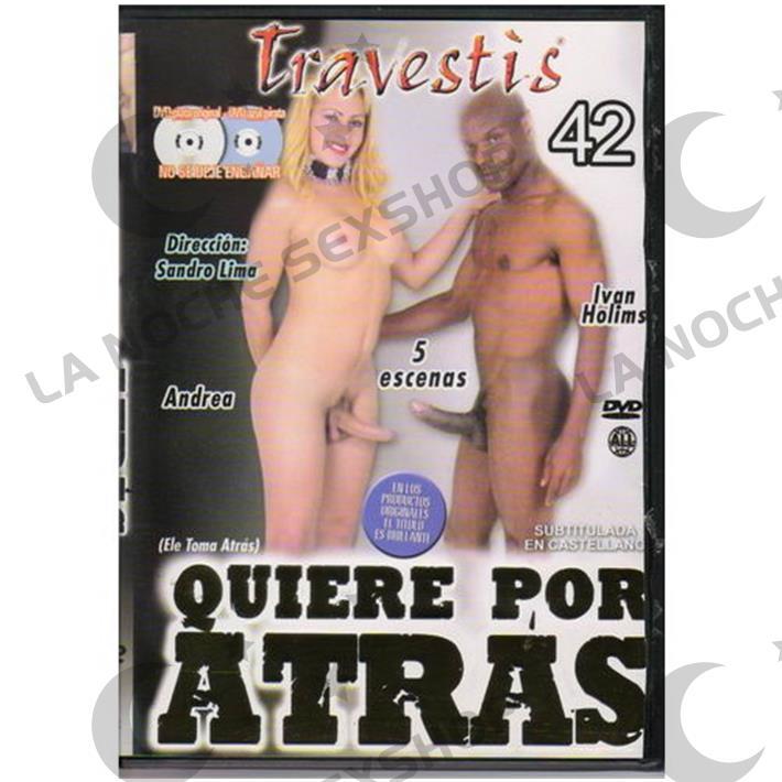 DVD XXX Quiere Por Atras