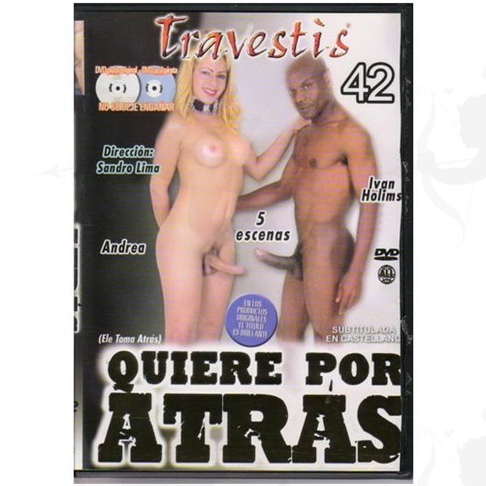 Cód: DVDT-210 - DVD XXX Quiere Por Atras - $ 200