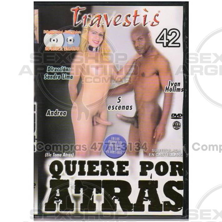 - DVD XXX Quiere Por Atras