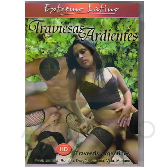 DVD XXX Traviesas Ardientes
