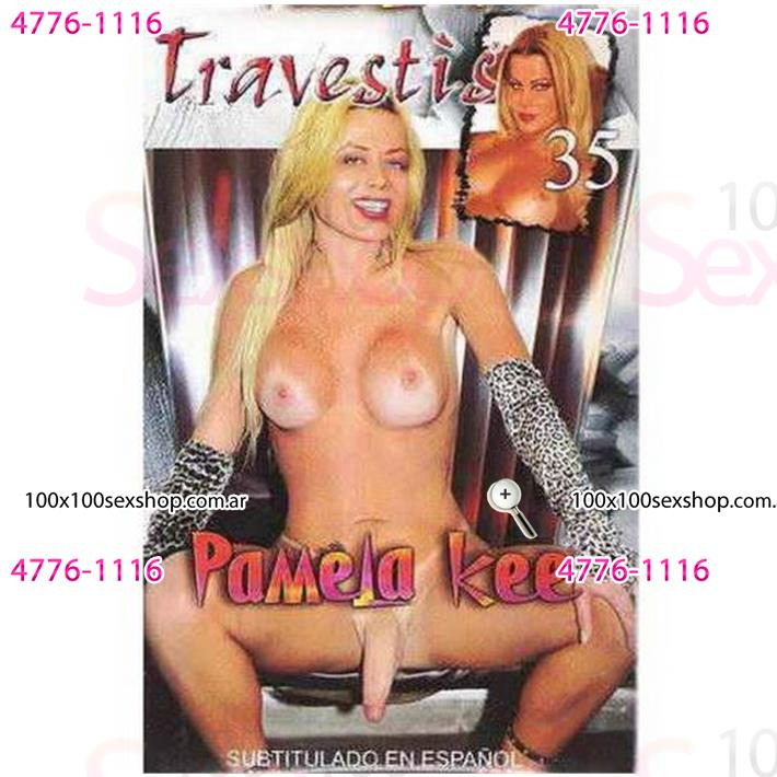 Cód: CA DVDT-213 - DVD XXX Pamela Kee - $ 200