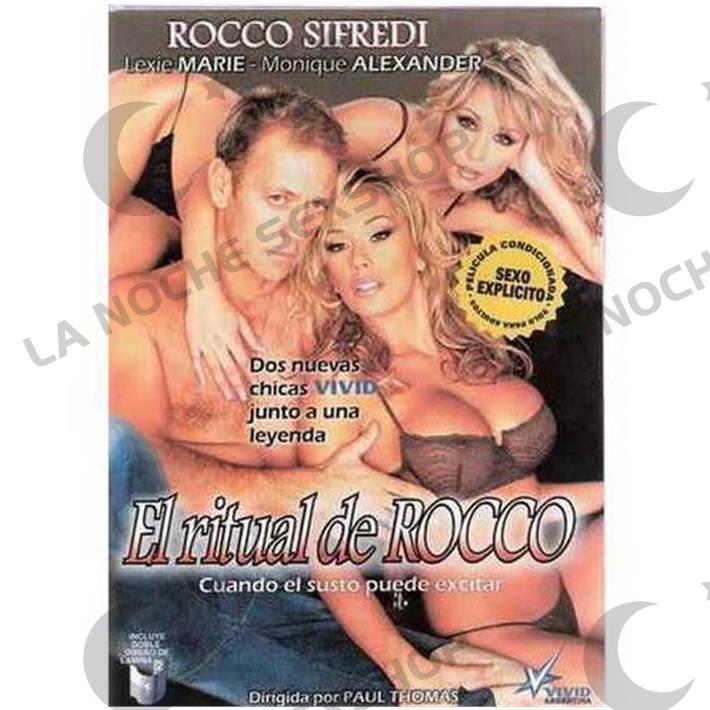 DVD XXX El Ritual De Rocco