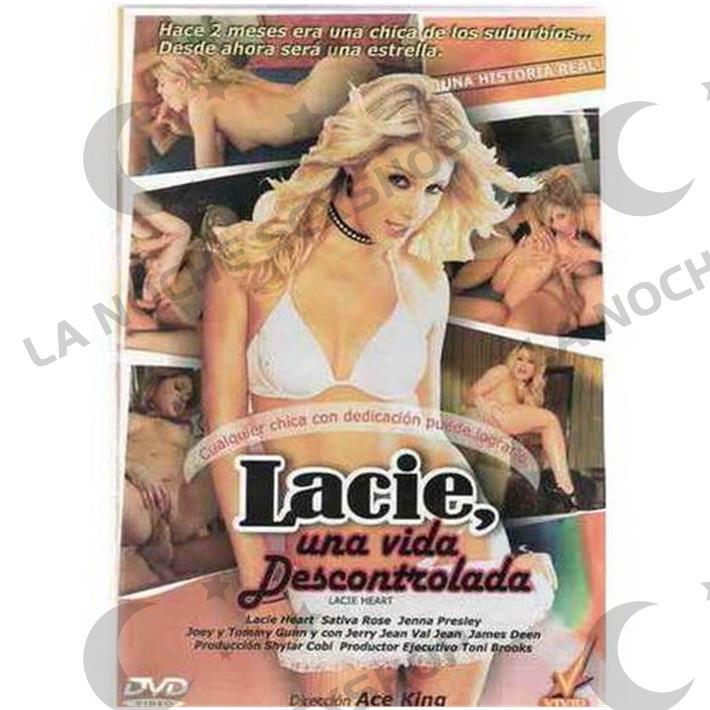 DVD XXX Lacie Una Vida Descontrolada