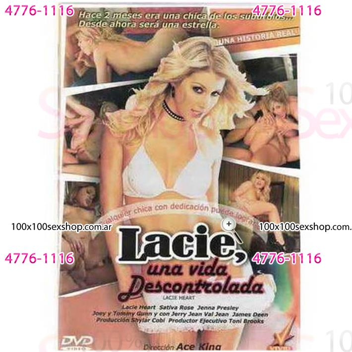 Cód: CA DVDVID-108 - DVD XXX Lacie Una Vida Descontrolada - $ 200