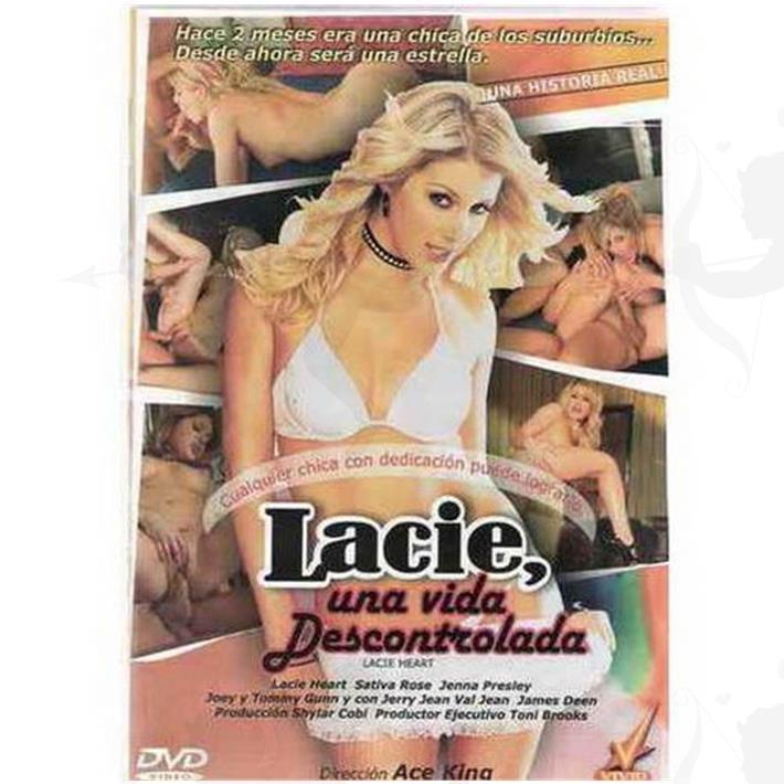 Cód: DVDVID-108 - DVD XXX Lacie Una Vida Descontrolada - $ 200