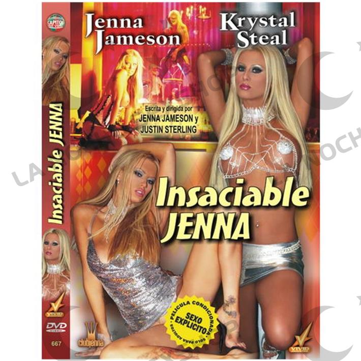 DVD XXX Insaciable Jenna